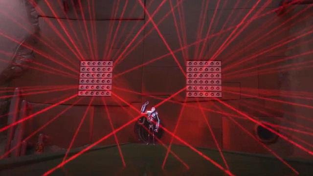 Laser en la Pared