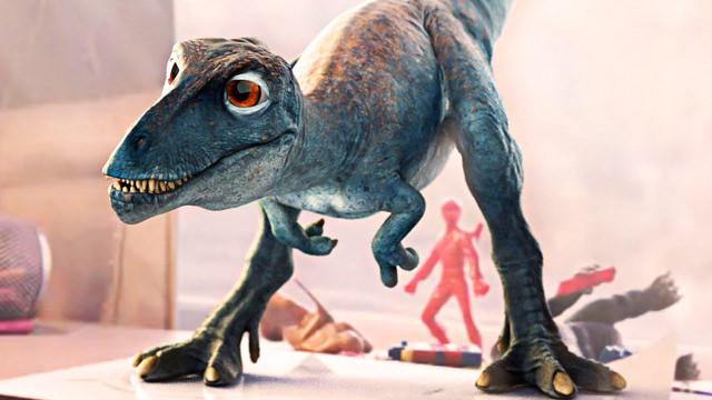 Un Dinosaurio Bebé