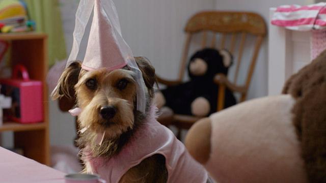 Con un Sombrero de Princesa