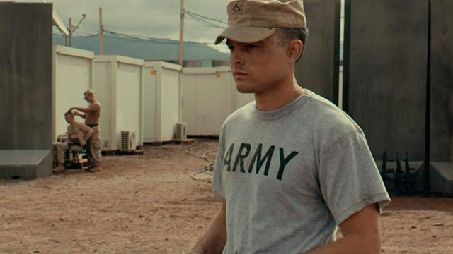 En la Base Militar