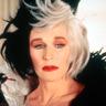 Glenn Close en el papel de Cruella de Vil
