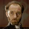 Jude Law en el papel de Karenin