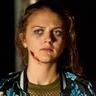 Alexandra Dinu en el papel de Tatiana