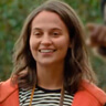 Alicia Vikander en el papel de April