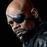 Samuel L. Jackson en el papel de Nick Fury