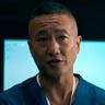 Terry Chen en el papel de Glen