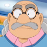 Ken'ichi Ogata en el papel de el profesor Agasa