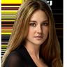 Shailene Woodley en el papel de Beatrice