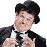 John C. Reilly en el papel de Oliver Hardy