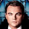 Leonardo DiCaprio en el papel de Jay Gatsby