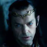 Hugo Weaving en el papel de Elrond