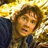 Martin Freeman en el papel de Bilbo Baggins