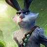 Hugh Jackman en el papel de el conejo de pascua