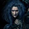 Meryl Streep en el papel de La Bruja