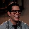 Christian Chávez en el papel de Alberto