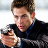 Chris Pine en el papel de Franklin