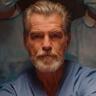 Pierce Brosnan en el papel de Dr. John Hindle