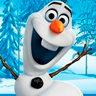 Josh Gad en el papel de Olaf