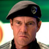 Dennis Quaid en el papel de General Hawk