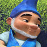 James McAvoy en el papel de Gnomeo