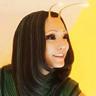 Pom Klementieff en el papel de Mantis