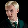 Tom Felton en el papel de Draco Malfoy