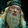 Michael Gambon en el papel de Albus Dumbledore