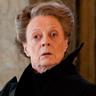 Maggie Smith en el papel de Minerva McGonagall