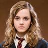 Emma Watson en el papel de Hermione Granger