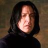 Alan Rickman en el papel de Severus Snape