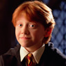 Rupert Grint en el papel de Ron Weasley