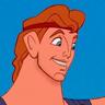 Tate Donovan en el papel de Hércules (voz)