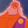 Rip Torn en el papel de Zeus (voz)
