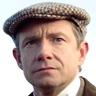 Martin Freeman en el papel de Mike Priddle