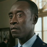Don Cheadle en el papel de James Rhodes