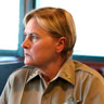 Denise Crosby en el papel de Sheriff Jane Dunne