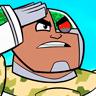 Khary Payton en el papel de Cyborg