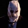 Damian Maffei en el papel de El Hombre de la Máscara