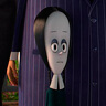 Chloë Grace Moretz en el papel de Merlina Addams