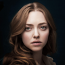 Amanda Seyfried en el papel de Cosette