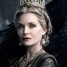 Michelle Pfeiffer en el papel de Reina Ingrith