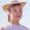 Florence Pugh en el papel de Amy March