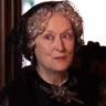 Meryl Streep en el papel de Tía March