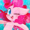 Andrea Libman en el papel de Pinkie Pie