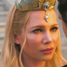 Michelle Williams en el papel de Glinda
