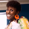 Issa Rae en el papel de April