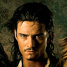 Orlando Bloom en el papel de Will Turner