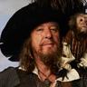 Geoffrey Rush en el papel de Capitán Hector Barbossa