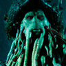 Bill Nighy en el papel de Davy Jones