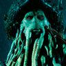 Bill Nighy en el papel de Davy Jones